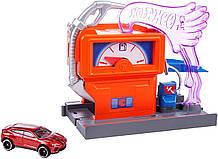 Ігровий набір Hot Wheels Заправна станція Hot Wheels City Downtown Super Fuel Stop Playset
