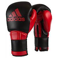 Боксерские перчатки Adidas Safety Sparring Glove Hook and Loop 12 Красный Черный ADIBC23N, КОД: 718727