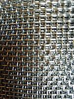 Сетка тканая из нержавеющей проволоки, Ячейка 2,5мм, Проволока 1,0мм,  Ширина 1м