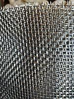 Сетка тканая из нержавеющей проволоки, Ячейка 3,5мм, Проволока 1,0мм,  Ширина 1м