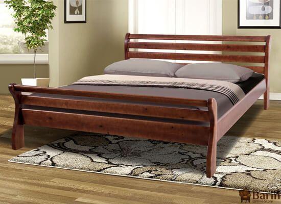 """Ліжко двоспальне """" Ретро 1,6 м вільха"""