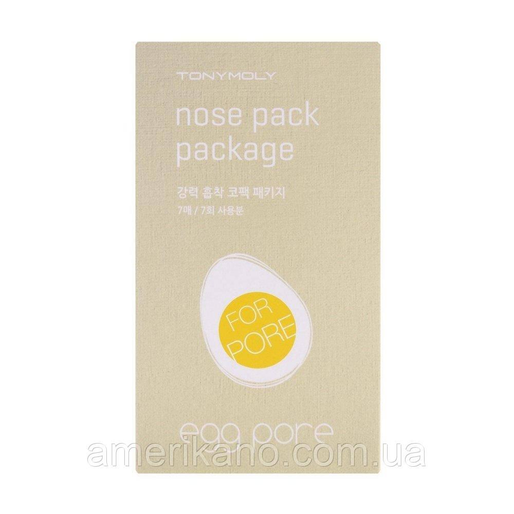 Пластырь для носа от черных точек TONY MOLY Egg Pore Nose Pack