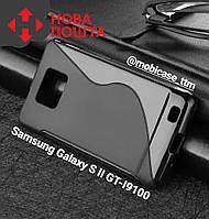 Чехол S-Line на телефон Samsung Galaxy S2 ІІ i9100 I9100 GT-i9100 силиконовый бампер для самсунг гелекси ТПУ