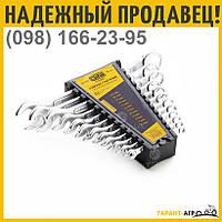 Набор ключей рожково-накидных стандарт 6-22мм (12 шт.) | СИЛА 201039
