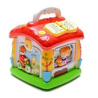 Детская развивающая игрушка Joy Toy Говорящий домик 9149 Разноцветная 10-60-9149, КОД: 286737