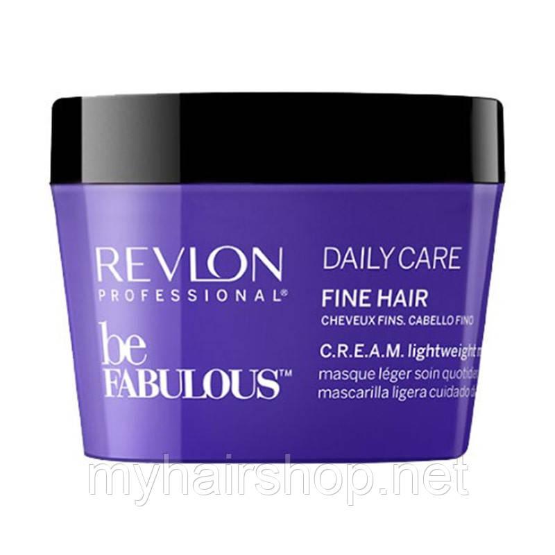 Маска для тонкого волосся Revlon Professional Be Fabulous Daily Care Lightweight Mask 200 мл