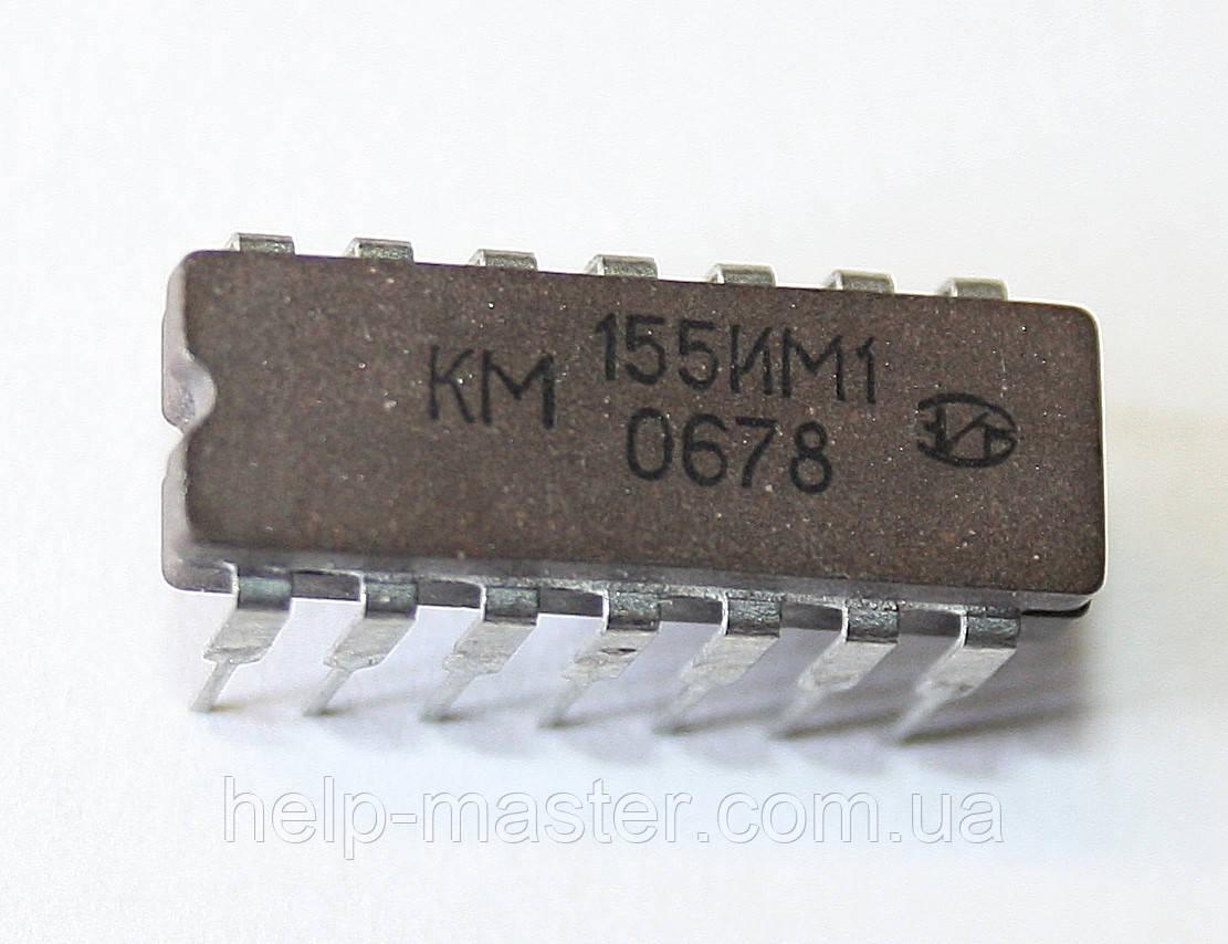 Микросхема КМ155ИМ1 (DIP-14)