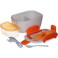 Ланч бокс электрический с подогревом Kronos Magic Electronic Lunch Box Оранжевый par0208020, КОД: 378482