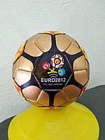 Мяч сувенирный № 2   EVRO-12 золотисто,красно,сине-черный