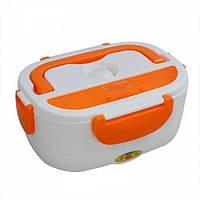 Ланч-бокс Electonic LunchBox с подогревом 220V и 12V Оранжевый nri-2209, КОД: 378494