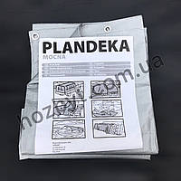 Тент укрывной PLANDEKA 5х6м, 100г./м2, (тарпаулиновый)