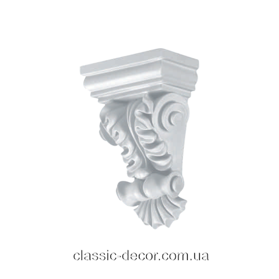 Консоль Classic Home  K150, лепной декор из полиуретана