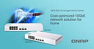 QNAP QSW-308-1C и QSW-308S: коммутаторы 10GbE для дома и офиса