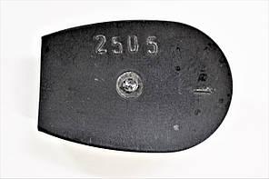 Каблук женский пластиковый 2505 р.1-3  h-1,9-2,1 см., фото 2