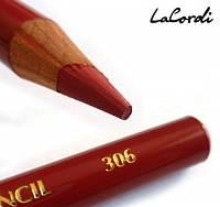 Карандаш для губ LaCordi №306 Терракотовый