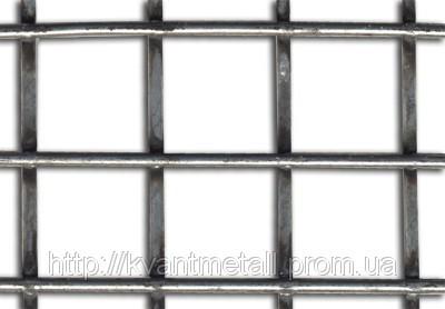 Сетка сварная 50х50, диаметр проволоки 2,7 размер карты 2х1