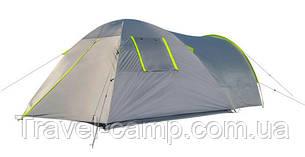 Палатка четырехместная  Green Camp на 2 входа, фото 2