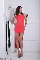 Приталенное женское платье со шлейфом  Vanessa