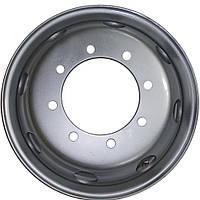 Колесный диск R22.5 КрКЗ 9.00x22.5 Volvo, Daimler-Benz, Magirus, MAN, Kassbohrer, МАЗ (серый)