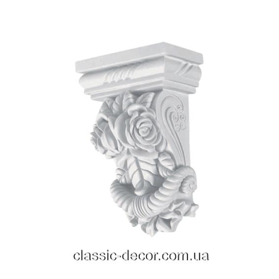 Консоль Classic Home K208, ліпний декор з поліуретану