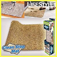 Супервпитывающий Коврик для ног Clean Step Mat
