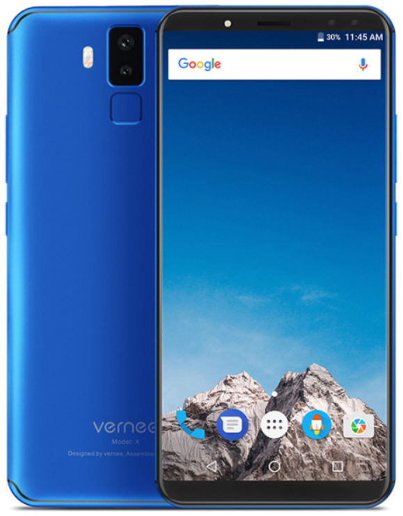 Vernee X1 6/64Gb blue