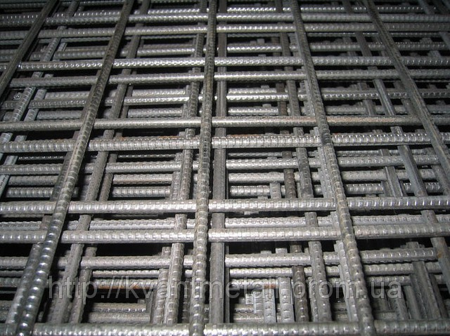 Сетка сварная 100х100, диаметр проволоки 3,7 размер карты 2х1