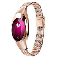 Фитнес-браслет женский z18 smart band gold с измерением давления