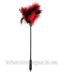 Перышко черно-красное Щекотунчик Bad Kitty