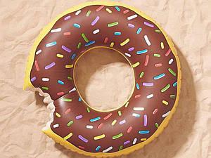 """Надувной круг """"Пончик"""", 100 см."""