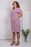 Літнє жіноче легке плаття,тканина супер софт,розміри:50,52.54.56., фото 2