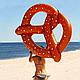 Надувной круг Крендель, 150 см., фото 8
