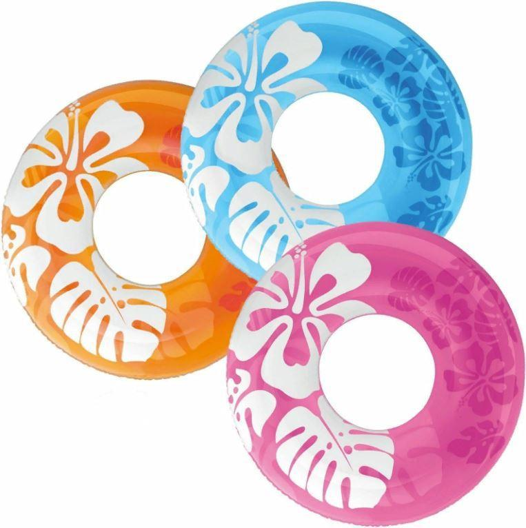 """Надувной круг """"Lively Print Swim Rings"""" Intex, 91см."""