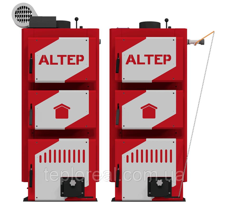 Котел твердопаливний тривалого горіння Альтеп Classic/Classic PLUS 24 кВт