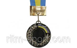 Медаль спортивная с лентой и местом под жетон, фото 2