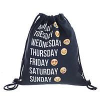 Мешок-рюкзак с 3D принтом Emoji Дни недели, фото 1