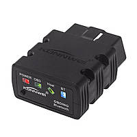 Сканер-адаптер KONNWEI KW902 для диагностики автомобиля OBDII Bluetooth 3.0 1163-8574, КОД: 948614