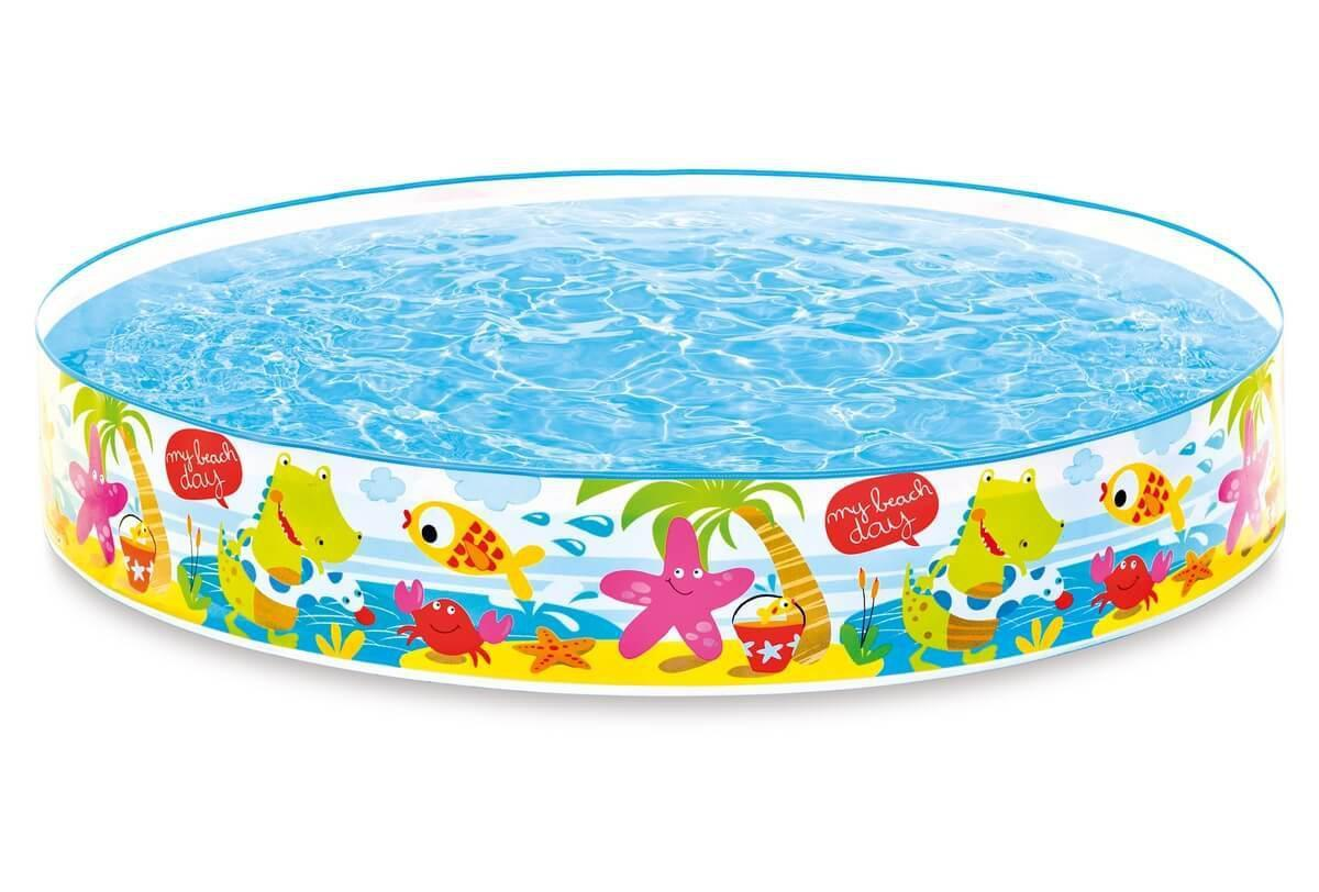 "Бассейн наливной Intex ""Snorkel Buddies Snapset Pool"",  450л, 152х25см."