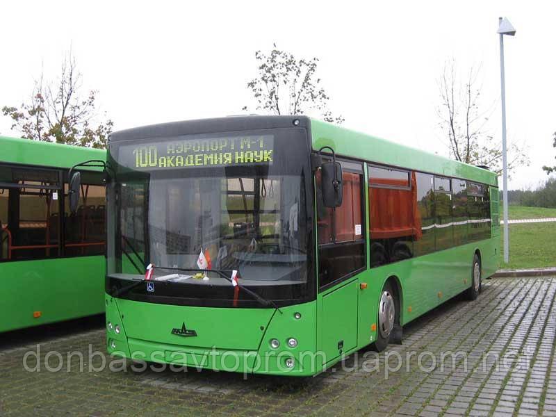 Новый пригородный автобус МАЗ 103 585