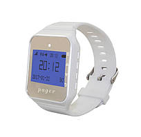 Пейджер - годинник R-02W White Watch Pager Recs USA