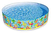 "Бассейн наливной Intex ""Ocean Play Snapset Pool"",  977л, 183х38см."