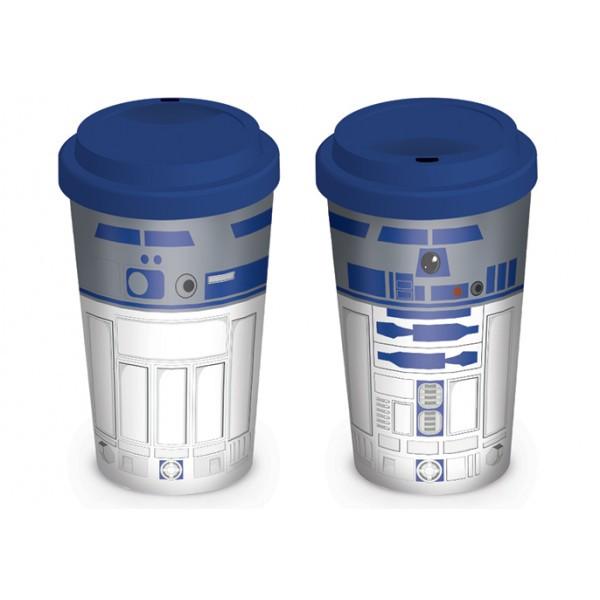 Эко кружка для путешествий Star Wars (R2D2) / Звёздные войны