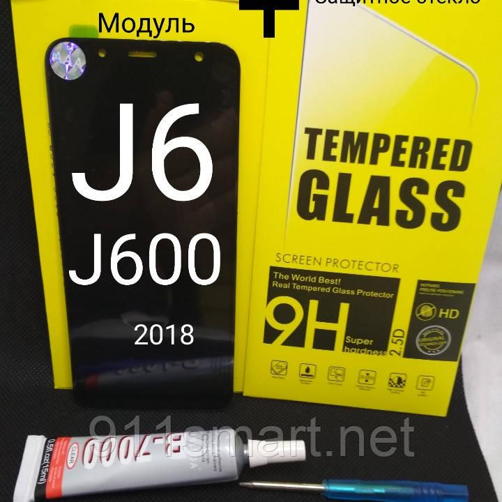 Amoled дисплей сенсор Samsung Galaxy J6 (2018), On6, J600F , J600G  (ч