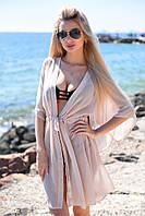 Пляжная туника накидки на купальник короткая 42 44 46 48  размер 7 км Одесса Новинка