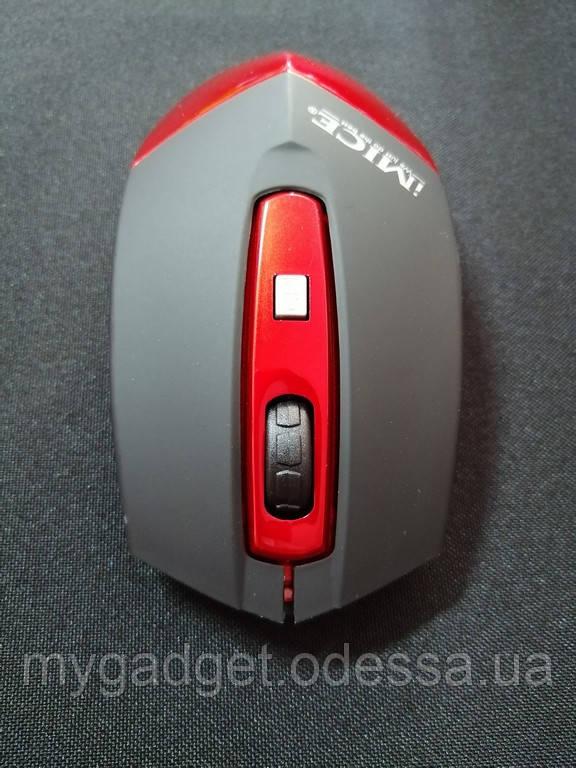 Беспроводная мышь iMICE E-2350 Red + подарок