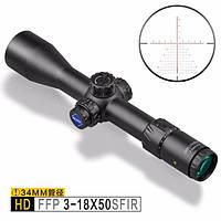 Оптический прицел Discovery Optics HD/34 3-18X50SFIR FFP