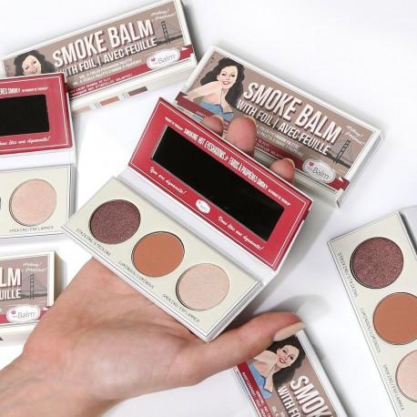 Палетка теней theBalm Smoke Balm Vol. 4 Foiled Eyeshadow Palette