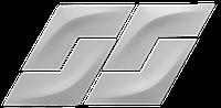 Гіпсова 3Д панель Бумеранг