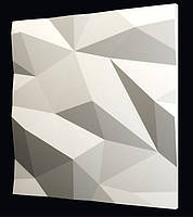 Гіпсова 3Д панель Кристали