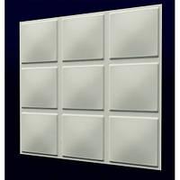 Гіпсова 3Д панель Кубики